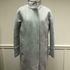 J.Crew $350 Stadium Cloth Wool Cocoon Coat B2770